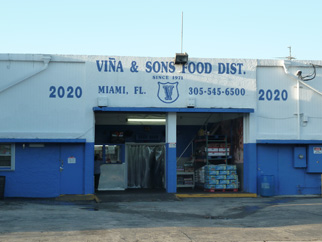 vina & sons food distributor