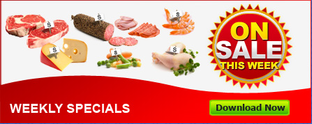 Viña & Sons Foods Distributor - download weekly specials